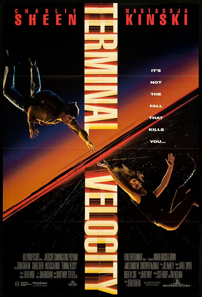 Terminal Velocity movie poster
