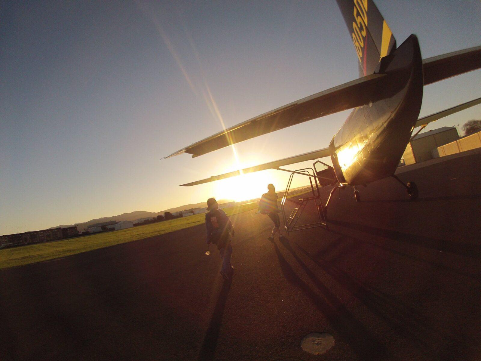 sunset skydive with Skydive Santa Barbara